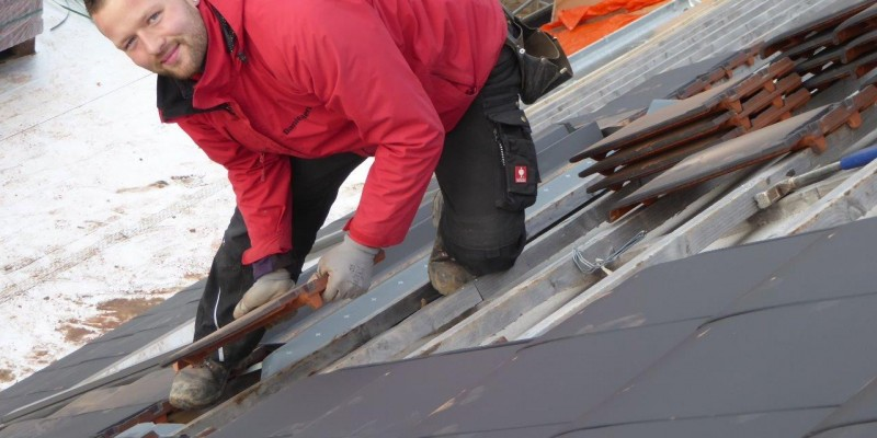 Dachdecker Steildach Sanierung